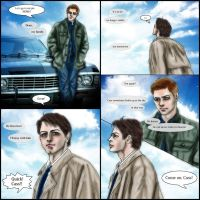 Supernatural fanfic just after S8.23 : My Family by noji1203