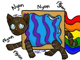 Hawkstar Nyan Cat by magicshoppingcart