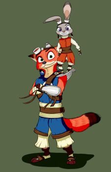 Zootopia (Jak and Daxter crossover) by Ookamiden