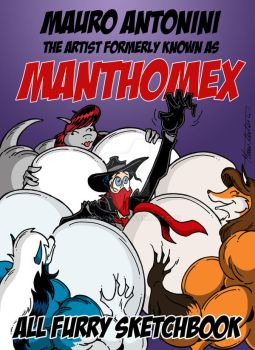 MANTHOMEX - ALL FURRY SKETCHBOOK: Cover by Manthomex