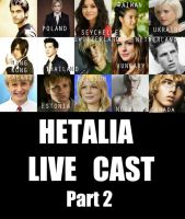 My Hetalia Live Cast (Part 2) by Redpaperlantern