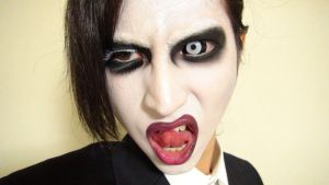 - *2nd* Marilyn Manson - Makeup2 by KisaMake