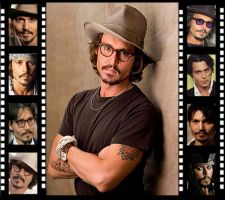 Johnny Depp Filmstrip by Mistify24