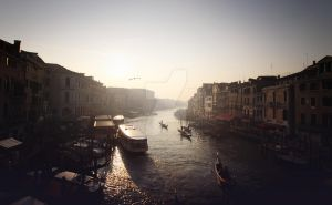 Venice at Sunset by Michaella-Designs