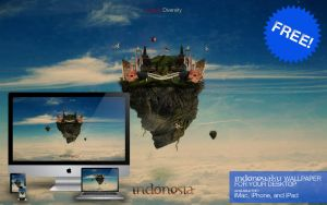 Indonesiaku Wallpaper Pack by kevinarya