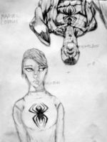Spidey and M. J. by spiderson5000