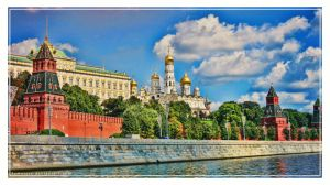 Across the Moscow River by demeters