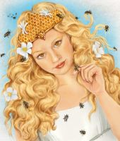 The Bee Keeper by LeeAnneKortus