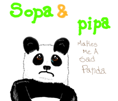 Sopa and Pipa Makes me a sad panda by GhostOfPardition