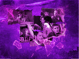 Supernatural-Wallpaper by GrafixGirlIreland