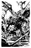 Swamp Thing by stokesbook