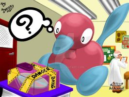 Porygon2! Pokemon Art Academy