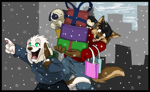 Early Christmas Shopping by FrostBlaze442