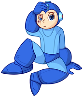 Megaman by FriendlyPoe