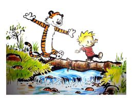 calvin n hobbes by prasadesign