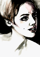 edie sedgwick by drunkenphantom
