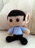 Crocheted Spock by Yodaman921