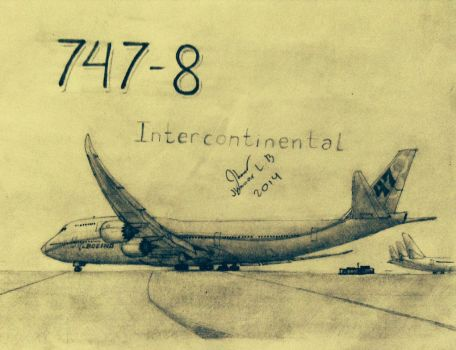 747-8 Intercontinental by SammfeatBlueheart