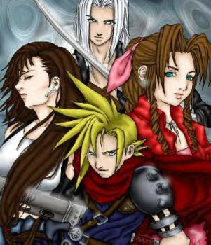 FFVII Group by SquareEnix