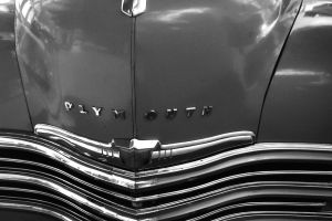 Old Plymouth Grille in Cuba by vanfoto