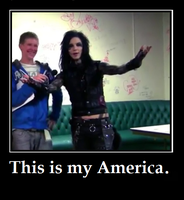 Andy Biersack's America by bloodymary140