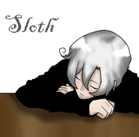 7 deadly sins: Sloth by AskAlaskaplz