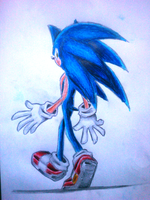 a Sonic drawing oh mah gawd. by nothing111111
