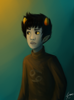 Karkat Vantas by StaticColour