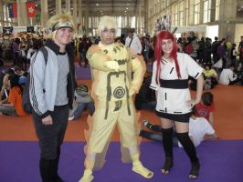 Naruto KCM and Minato and Kushina! by Naruto-Cosplay-Cadiz