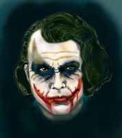 Joker Dark Knight by Vinnyjohn13