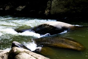 Mill and Stream In-Frame - Rapids by wetdryvac