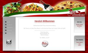 Homepage Pizza H. by DOMDESIGN