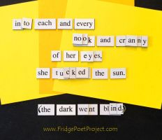 The Daily Magnet #194 by FridgePoetProject