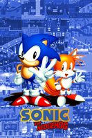 Sonic and Tails Gen iPhone bg by gameover89