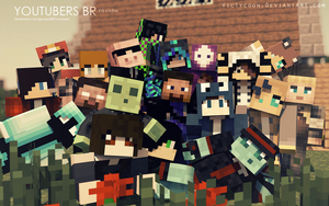 Youtubers BR Group by VicTycoon