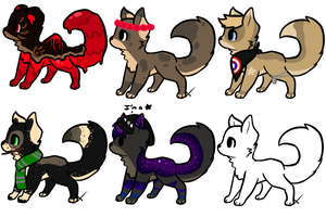 Offer pups OPEN by XanderGirl96