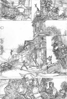 The Monk pencils pg 2 by stockyboy