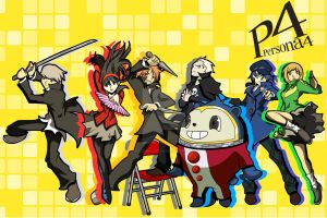 Persona 4 poster by ChaosWhite180