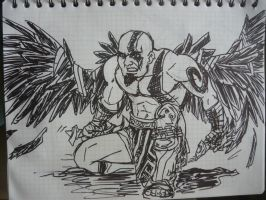 Kratos Icarus Wings by wingzerox86