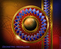 Geometric Medallion by PeterPawn