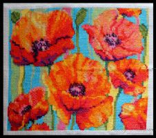 Poppies by KezzaLN