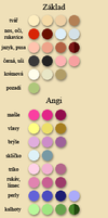 Color palette by Angi-Shy