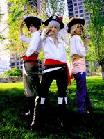 Pirates Trio by Soubixcos