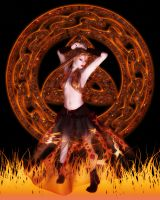 Celtic Dancer by miXXedBlessings