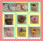 Chart B $10 for any 3 charms by kneazlegurl125