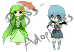 Gijinka Customs for BlueHecate by Piyos-Adoptables
