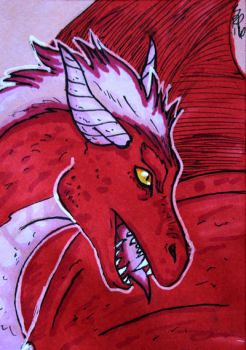 ACEO: Scorge by AwesomelyAimless