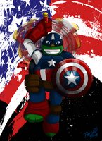 Captain Mikey by Mysterious-D