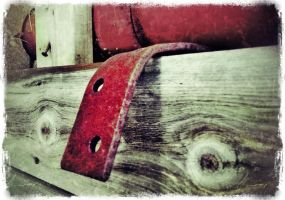 iPhoneography,   Bend the Red by Gerald-Bostock