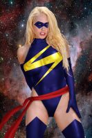 Ms. Marvel by DaswookofHeromorph